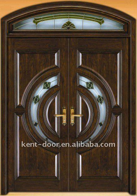 Entrance door villa door exterior wooden door buy for Entry doors for sale
