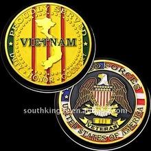 casting Vietnam war couvenir coin