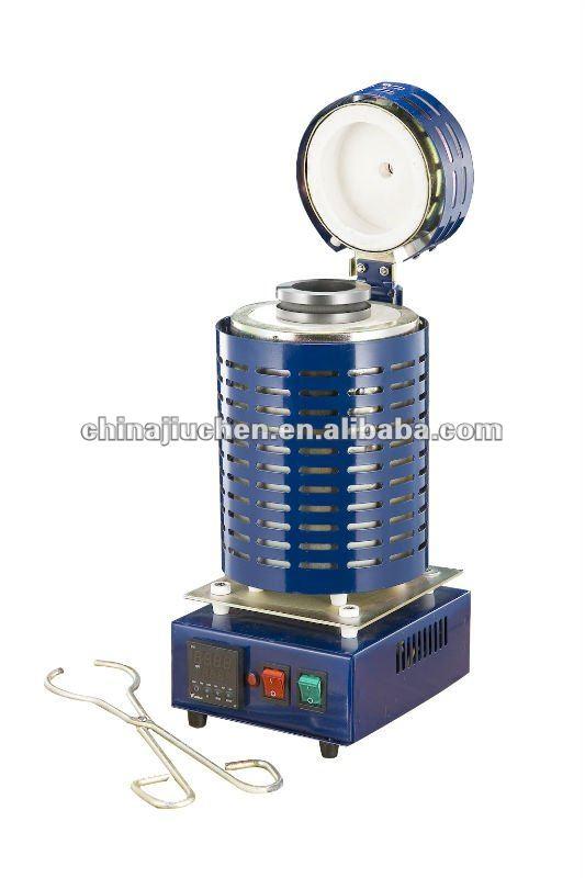 110V-2Kw Tilt-Pour Digital Automatic Melting Furnace for Lab