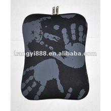 Neoprene printing black 10inch laptop sleeve bag