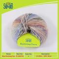 fábrica de fios de venda por atacado hot macio mão fios de tricô de lã de fornecedor