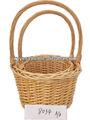 pcs 2 cestas de mimbre artesanal