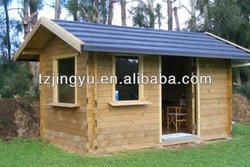 Prefab wooden huts