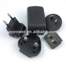 supply interchangeable power charger 5 V 2A Mini PDA Charger/AC/DC Switching