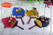 Cartoon plastic souvenir hand fans