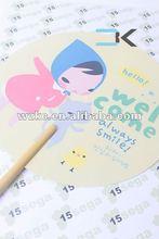 Chopsticks Cartoon Fan