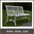park bench banco de jardim metal