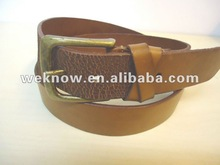 BSCI factory wholesale new style genuine Leather Belt