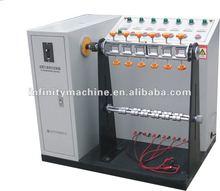 Plug wire line bending tester