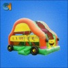 inflatable truck bounces to US,inflatable party games for adult and kids