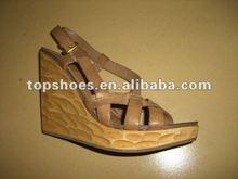 Wedge sandals, sandal batik