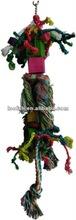 Cotton rope bird parrot toys
