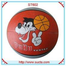 OEM rubber basketball balls ST602