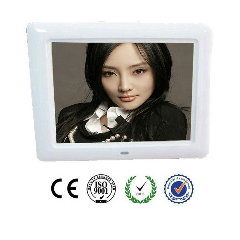 7 pulgadas LCD marco de fotos Digital