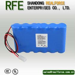 li-ion battery 18650 6000mah 7.4v 2S3P