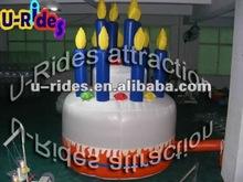 Birthady Cake inflatable model inflatable birthday cake