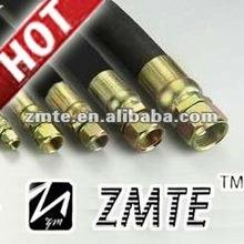 single braid Hydraulic hose fittings EN 853 1SN
