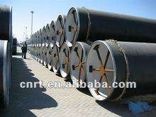 coal tar enamel coating at exterior Spiral steel pipes