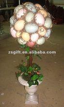 wonderful handicrafts artificial tree easter egg