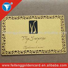 2013 Original Design/ Logo Metal Business VIP Cards