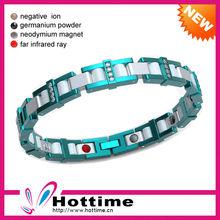 Power Energy Balance Silicon Metal Bracelet