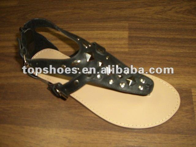 Flat sandals latest fashion girls sandals