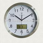 14 inch Radio controlled Day-date digital LCD wall clock
