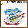Divertido el barco del agua para los niños, adorable pescado forma de barco, barco lindo para los niños