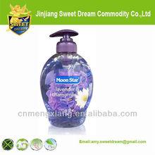 Moon star anti bacterial lavender flavor mild liquid hand soap
