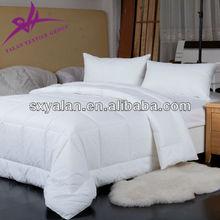 polyester/microfiber/hollow fiber white hotel quilt/duvet