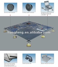 Changzhou portable steel access floors with carpets