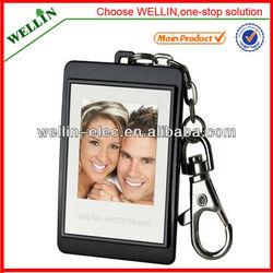 Cheapest Mini 1.5inch digital photo frame with keychain ZU245
