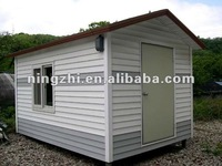 low cost and best quality guard prefab house