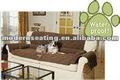 Impermeable sofá del animal doméstico / tapa del sofá / sofá cubierta marrón acolchado