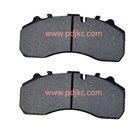 semimetallic truck brake pads for SCANIA,MERCEDES BENZ,DAF,IVEO,MAN