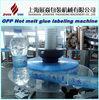 HLML-5 OPP / BOPP Hot melt glue labeling machine for water carbonated drinks