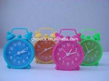 2015 Popular Silicone Alarm Clock with BB alarm 2015
