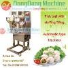 Sandwich fish balls making machine, fish ball with filling molding machine