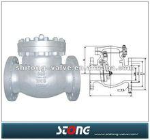 wenzhou valve .API Swing Check Valve, industrial check valve DN100 DN250