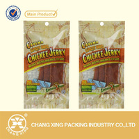 OEM printing moisture proof small plastic bag for dried beef jerky