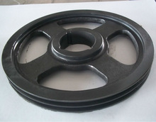 DIN ANSI SPZ,SPA,SPB,SPC,SPZ cast iron and steel taper bore v belt pulley