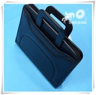 2014 high grade leather portable briefcase, leather document bag