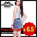 Latest Fashion Designer sexy girl curto saia jeans 2033