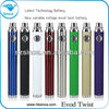 New arrival evod twist battery evod e-cigarete ego vaporizer pen with 650/900/110mah accept oem shenzhen electronic atomizer