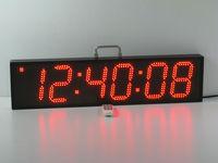 6 inch 6 digits ultra brightness Marathon races clock