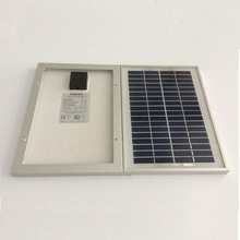 full power 5w 18v small solar panel for storage battery charging use