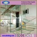10mm, 12mm klare flache Sicherheit gehärtetem glasin treppe
