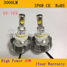 mitsubishi triton l200 led headlight projector led car headlight for car 6v led headlight