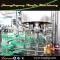 bottiglia di vetro di riempimento automatico di vini italiani