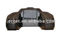 65L Rear Box ATV with Backrest for honda atvs